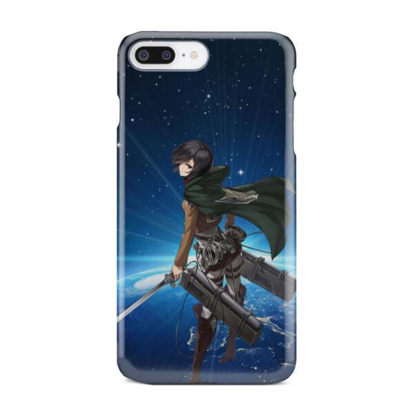 Mikasa Ackerman Attack on Titan for Trendy iPhone 8 Plus Case