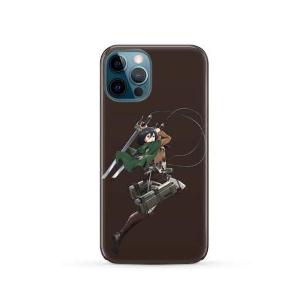 Mikasa Attack on Titan Character for Amazing iPhone 12 Pro Case Cover