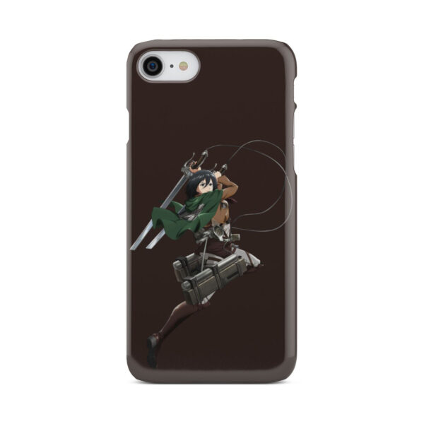 Mikasa Attack on Titan Character for Amazing iPhone 8 Case
