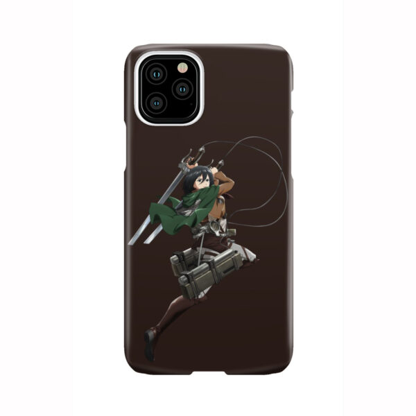 Mikasa Attack on Titan Character for Beautiful iPhone 11 Pro Case Cover