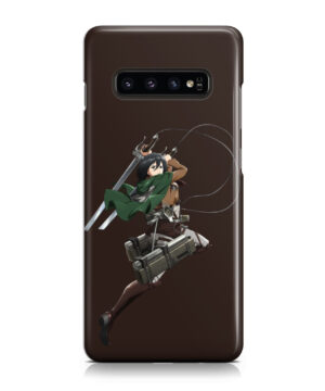 Mikasa Attack on Titan Character for Nice Samsung Galaxy S10 Case Cover