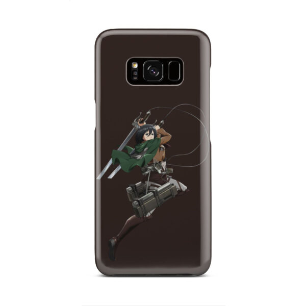 Mikasa Attack on Titan Character for Nice Samsung Galaxy S8 Case