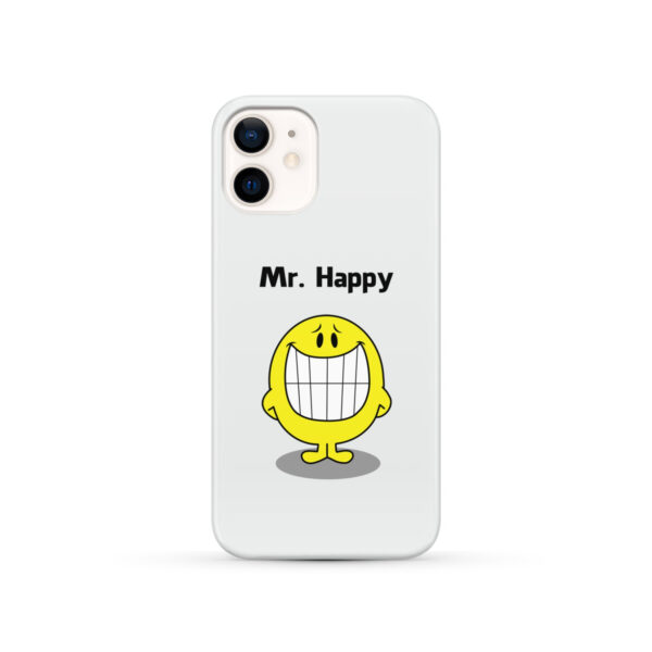 Mr Happy for Best iPhone 12 Case Cover