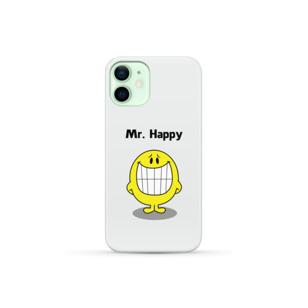 Mr Happy for Cool iPhone 12 Mini Case Cover