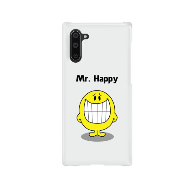 Mr Happy for Customized Samsung Galaxy Note 10 Case Cover