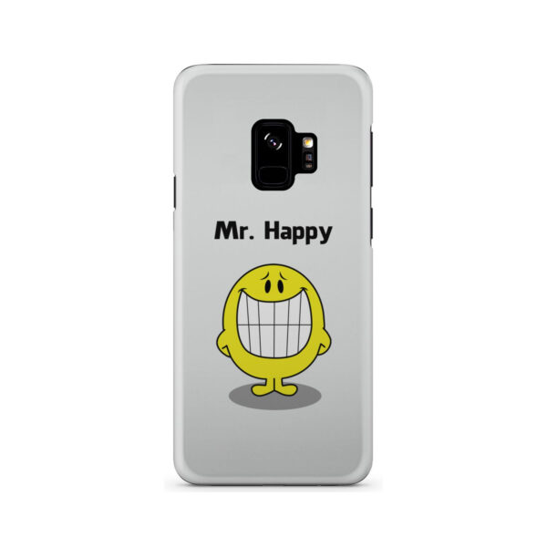 Mr Happy for Customized Samsung Galaxy S9 Case