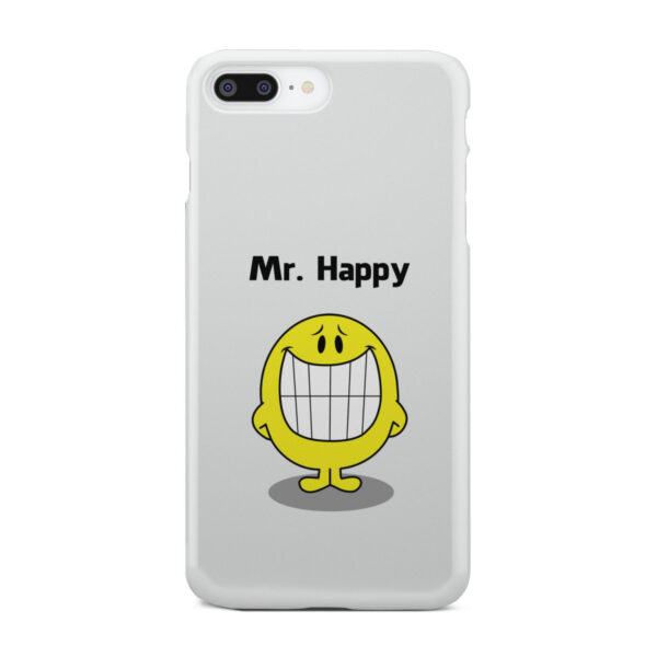 Mr Happy for Cute iPhone 8 Plus Case