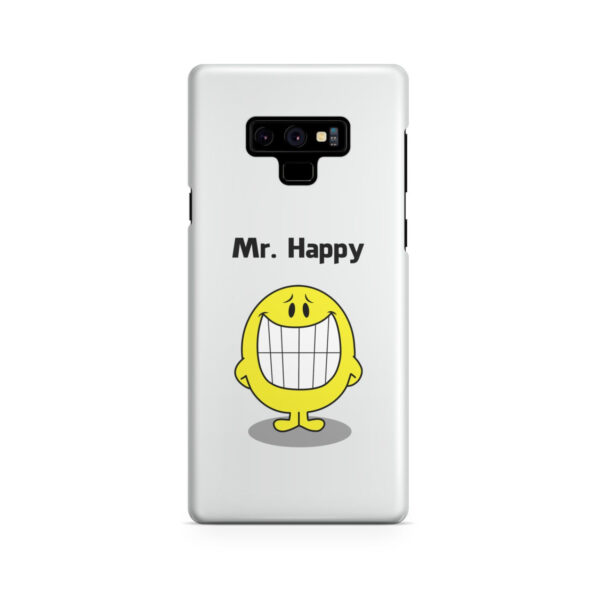 Mr Happy for Trendy Samsung Galaxy Note 9 Case Cover