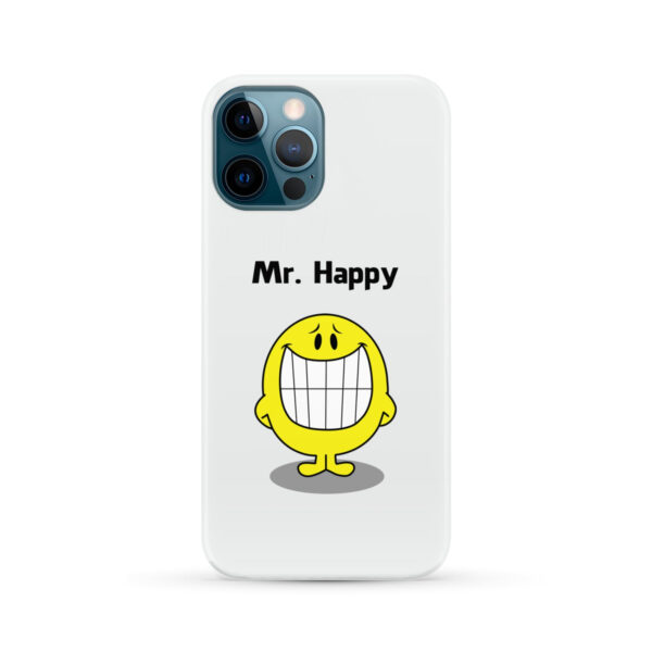 Mr Happy for Unique iPhone 12 Pro Max Case Cover