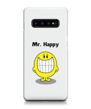 Mr Happy for Unique Samsung Galaxy S10 Plus Case