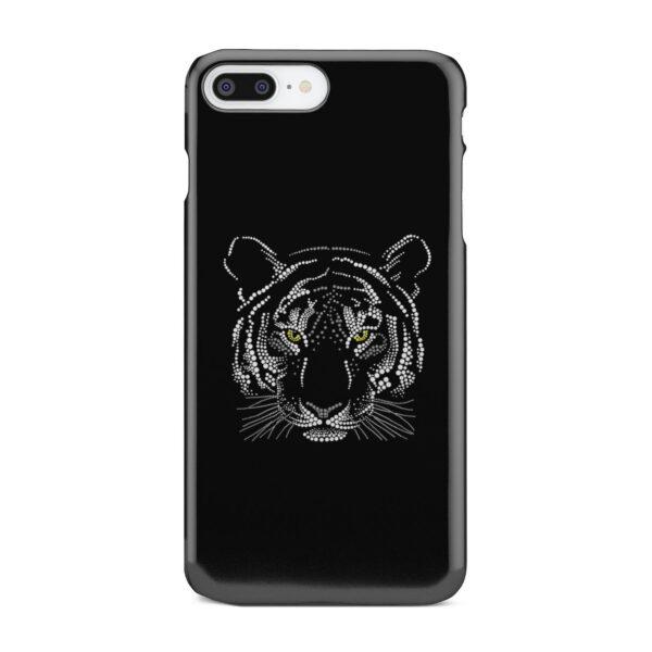Muzzle Tiger Face for Custom iPhone 8 Plus Case
