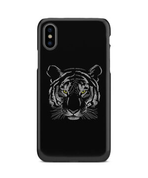 Muzzle Tiger Face for Customized iPhone X / XS Case Cover