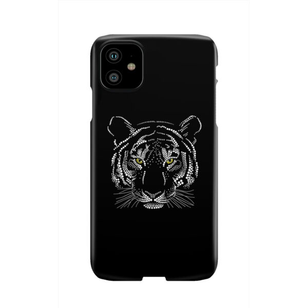 Muzzle Tiger Face for Stylish iPhone 11 Case