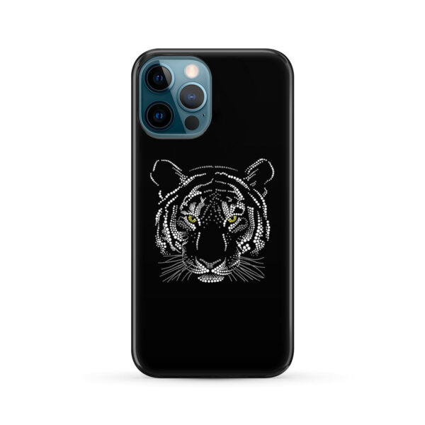 Muzzle Tiger Face for Stylish iPhone 12 Pro Max Case Cover