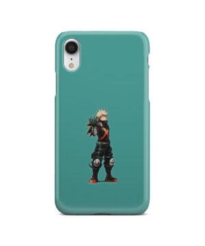 My Hero Academia Katsuki Bakugo for Premium iPhone XR Case Cover