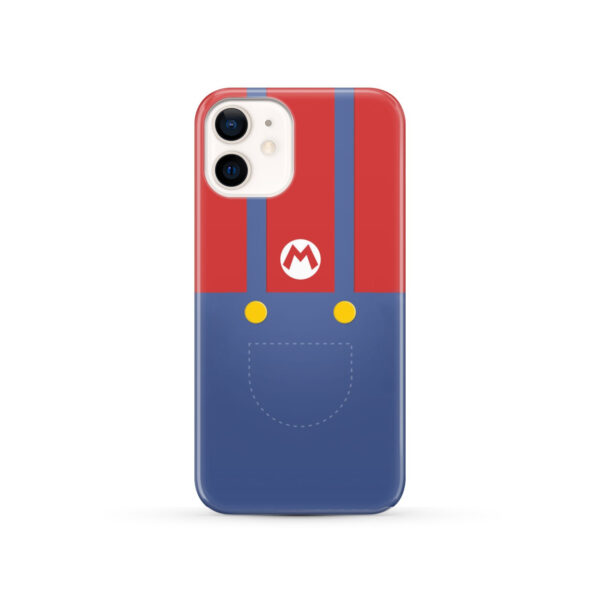 My Hero Super Mario for Cute iPhone 12 Case Cover