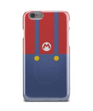My Hero Super Mario for Personalised iPhone 6 Case