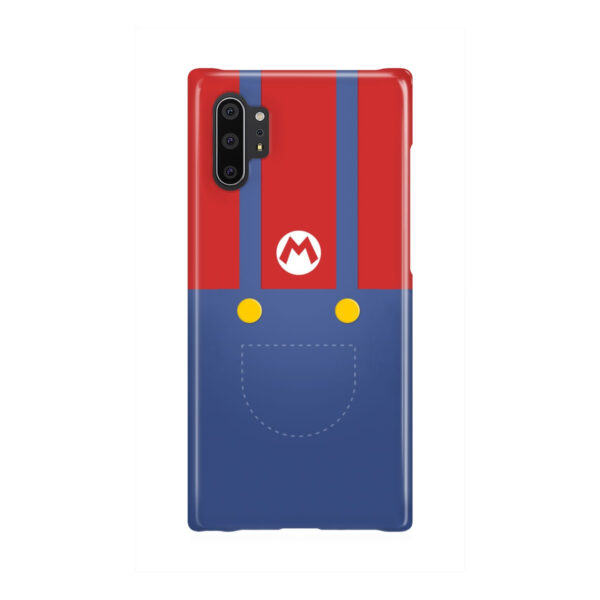 My Hero Super Mario for Personalised Samsung Galaxy Note 10 Plus Case Cover