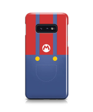 My Hero Super Mario for Personalised Samsung Galaxy S10e Case Cover