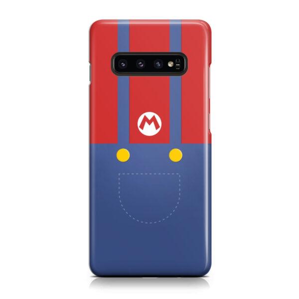 My Hero Super Mario for Stylish Samsung Galaxy S10 Case Cover