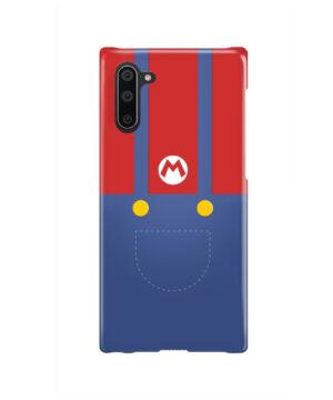 My Hero Super Mario for Unique Samsung Galaxy Note 10 Case