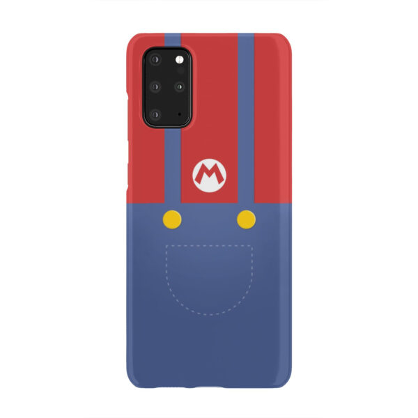 My Hero Super Mario for Unique Samsung Galaxy S20 Plus Case Cover