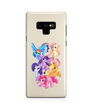 My Little Pony Characters for Beautiful Samsung Galaxy Note 9 Case Cover