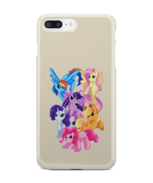 My Little Pony Characters for Cool iPhone 8 Plus Case