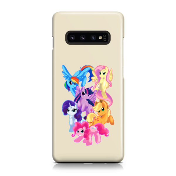 My Little Pony Characters for Cool Samsung Galaxy S10 Plus Case