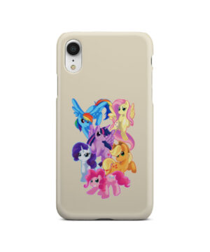 My Little Pony Characters for Custom iPhone XR Case Cover