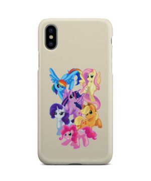 My Little Pony Characters for Customized iPhone X / XS Case Cover