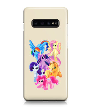 My Little Pony Characters for Newest Samsung Galaxy S10 Case Cover
