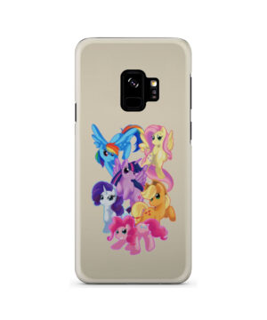 My Little Pony Characters for Newest Samsung Galaxy S9 Case