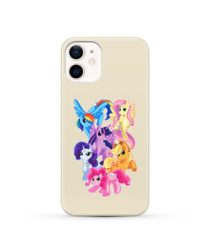 My Little Pony Characters for Personalised iPhone 12 Case Cover