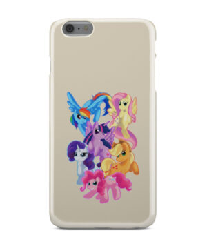My Little Pony Characters for Simple iPhone 6 Plus Case Cover