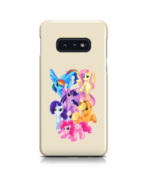 My Little Pony Characters for Simple Samsung Galaxy S10e Case