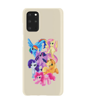 My Little Pony Characters for Unique Samsung Galaxy S20 Plus Case