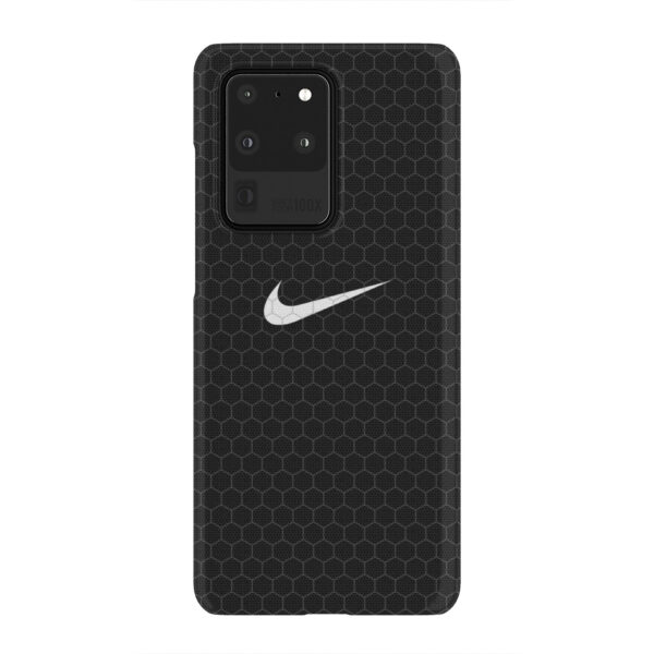 Nike Carbon Fiber for Amazing Samsung Galaxy S20 Ultra Case Cover
