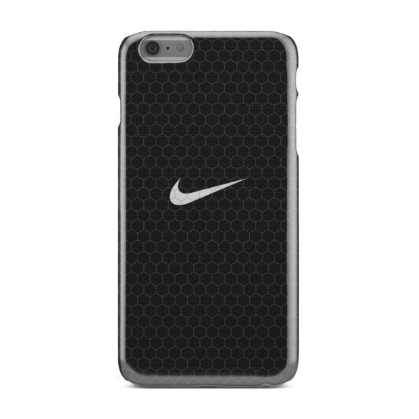 Nike Carbon Fiber for Custom iPhone 6 Plus Case Cover