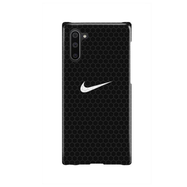 Nike Carbon Fiber for Custom Samsung Galaxy Note 10 Case