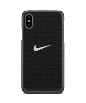Nike Carbon Fiber for Nice iPhone X / XS Case