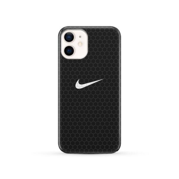 Nike Carbon Fiber for Premium iPhone 12 Case Cover