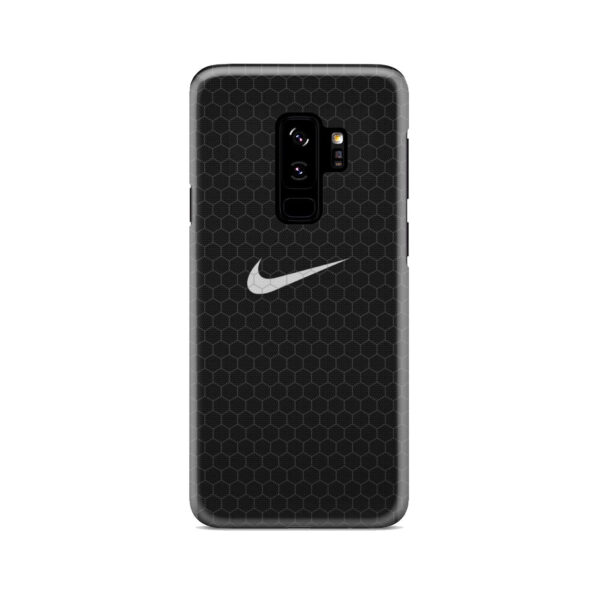 Nike Carbon Fiber for Simple Samsung Galaxy S9 Plus Case