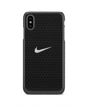 Nike Carbon Fiber for Trendy iPhone XS Max Case
