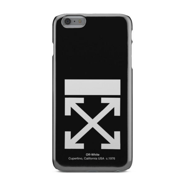 Off White Logo for Amazing iPhone 6 Plus Case Cover