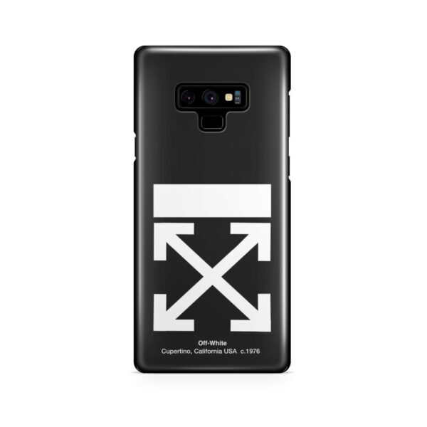 Off White Logo for Amazing Samsung Galaxy Note 9 Case