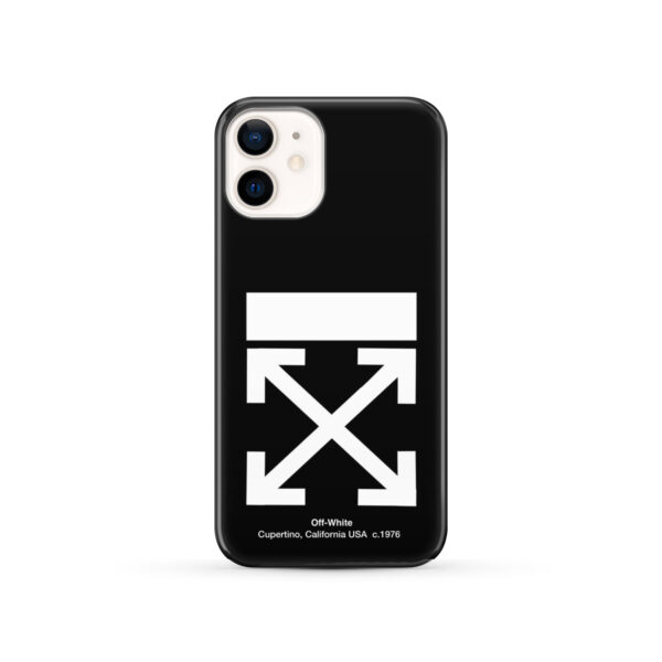 Off White Logo for Best iPhone 12 Case