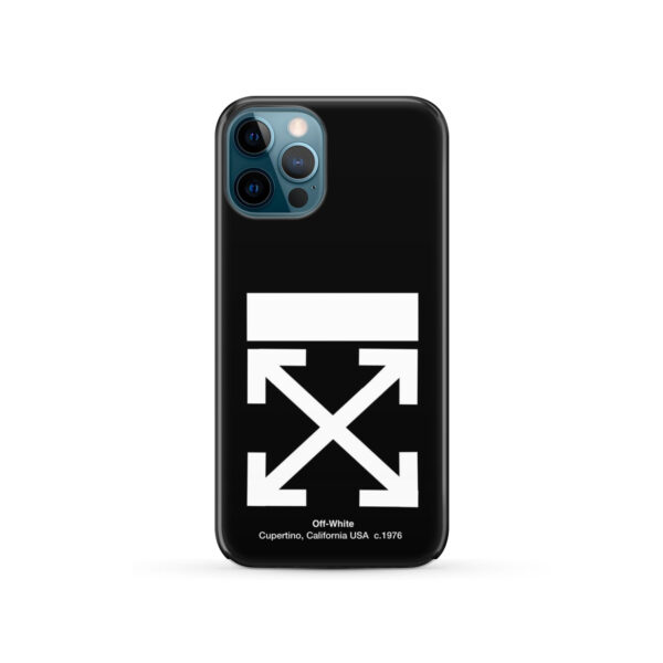 Off White Logo for Best iPhone 12 Pro Case Cover