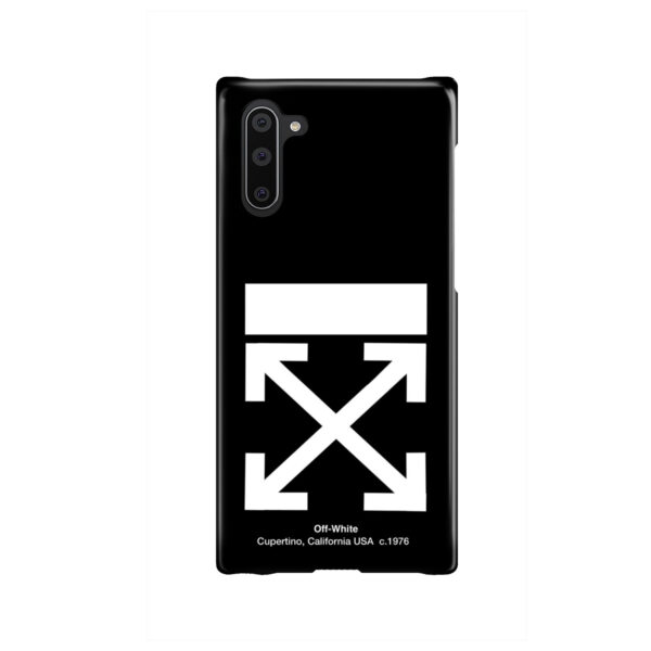 Off White Logo for Cute Samsung Galaxy Note 10 Case Cover