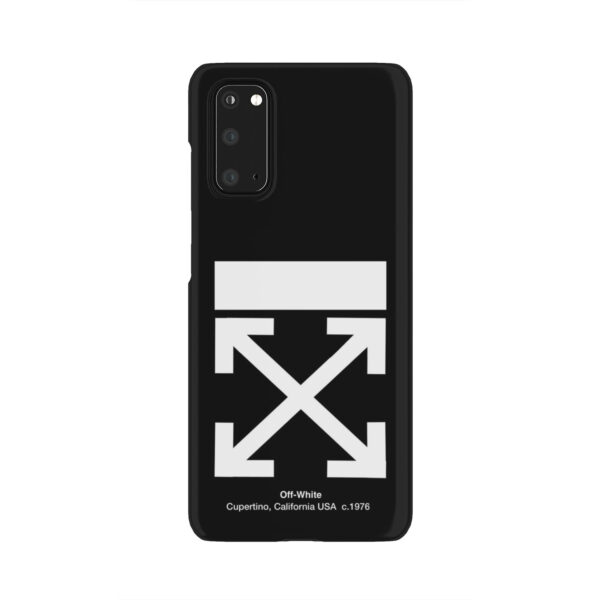 Off White Logo for Newest Samsung Galaxy S20 Case Cover